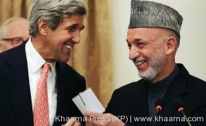 Karzai and John Kerry Agrees on US-Afghan security pact