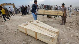 ۲۰۱۷ سال مرگبار برای افغان ها؛ بیش از ۱۰ هزار تن کشته و زخمی شدند