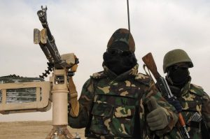 Afghan National Army soldiers injured in Khost