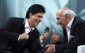 Shahrukh Khan and Yash Chopra