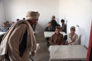 Taliban control Afghan schools