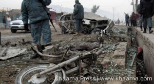 Khogyani district chief escape roadside bomb blast