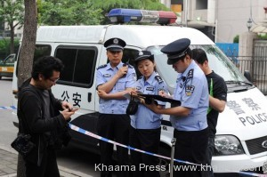 baby killed by Chinese car thief