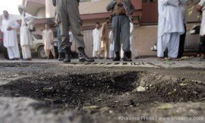 rocket attack in Farah province