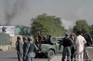 Attack in capital Kabul