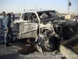 Helmand suicide attack