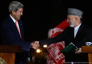 Karzai and Kerry Agree BSA terms