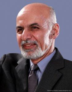 Afghan President Ashraf Ghani Ahmadzai