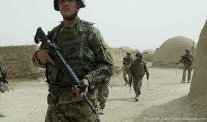 Afghan army soldiers martyred