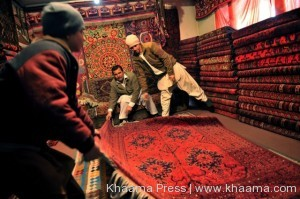 Afghanistan secures first position in international carpet exhibition
