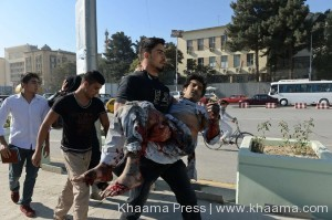 ISAF condemns suicide attack by Taliban in capital Kabul