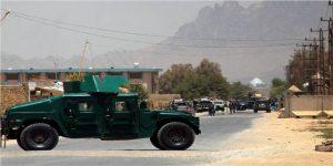 Afghan Police at crime scene