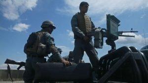 attack on Kunduz police HQ