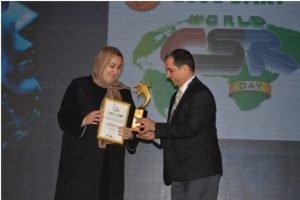 Massouda Jalal wins leadership award