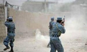 Police in attack
