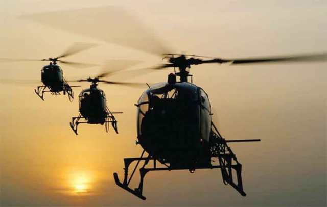 Afghanistan receive helicopters from India