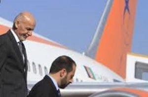 Ghani visiting