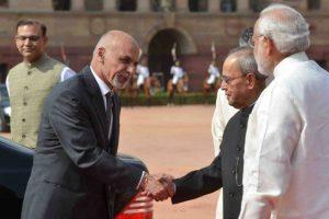 Ghani visits India