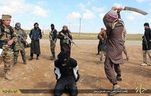man beheaded in Syria