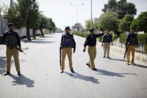 Pakistani police