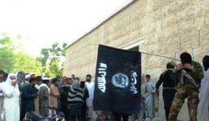ISIS behead a man in Nangarhar
