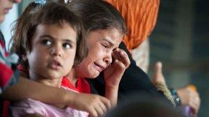 Iraqi child booby-trapped