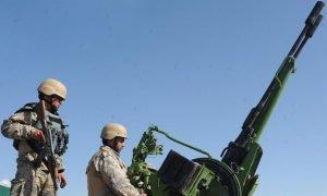 Afghan border forces