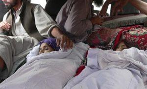 Afghan civilians killed