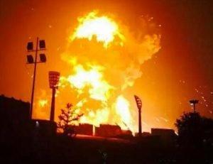 Massive-explosion-in-China