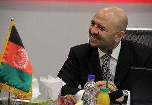 Sadat Mansoor Naderi at Bank Shahr Iran