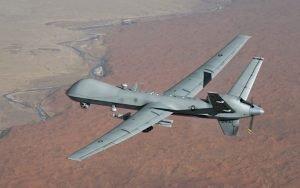US drone crash in Afghanistan