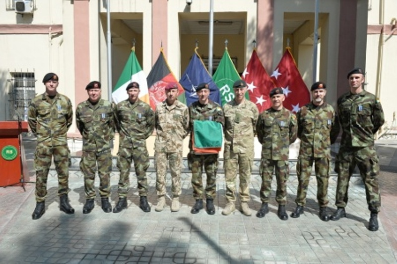 ireland commemorates end of military mission in afghanistan the