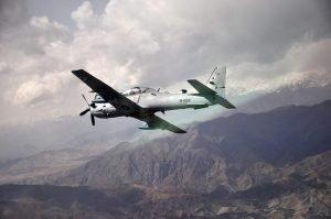 Afghan Air Force target militants
