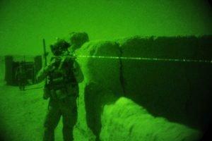 Afghan army night raids
