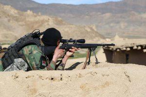 Afghan soldiers martyred