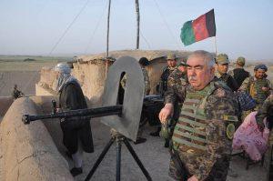 Dostum led operations in Jawzjan