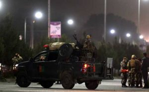 Explosions heard in Kabul amid reports 2 rockets landed in key diplomatic area