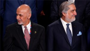 Abdullah and Ghani tensions