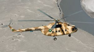 Pakistani helicopter crash in Afghanistan