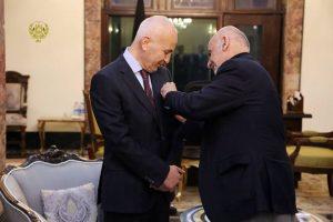 Ghani Confers High state Medal on NATO Senior Civilian Representative