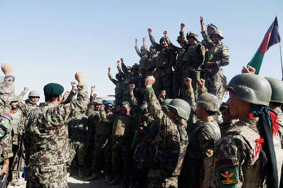 Afghan forces recapture Nawa district from Taliban in Helmand