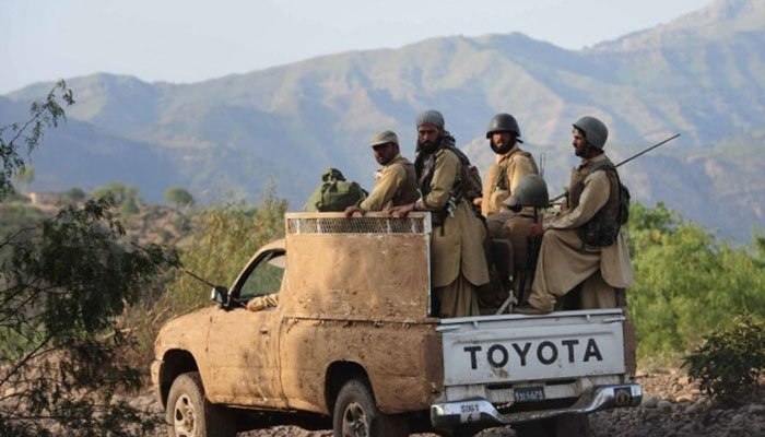 Kurram Agency: 4 security personnel embraced martyrdom in mine blast