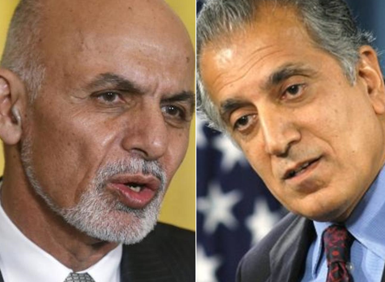 USA  special envoy to Afghanistan calls on foreign secretary